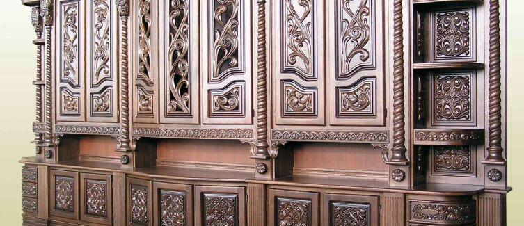 Купить мебель из ценных пород дерева