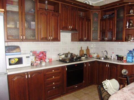 Кухни «дерево»: кухня угловая «Эридан»