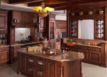 Как заказать деревянную кухню в Киеве