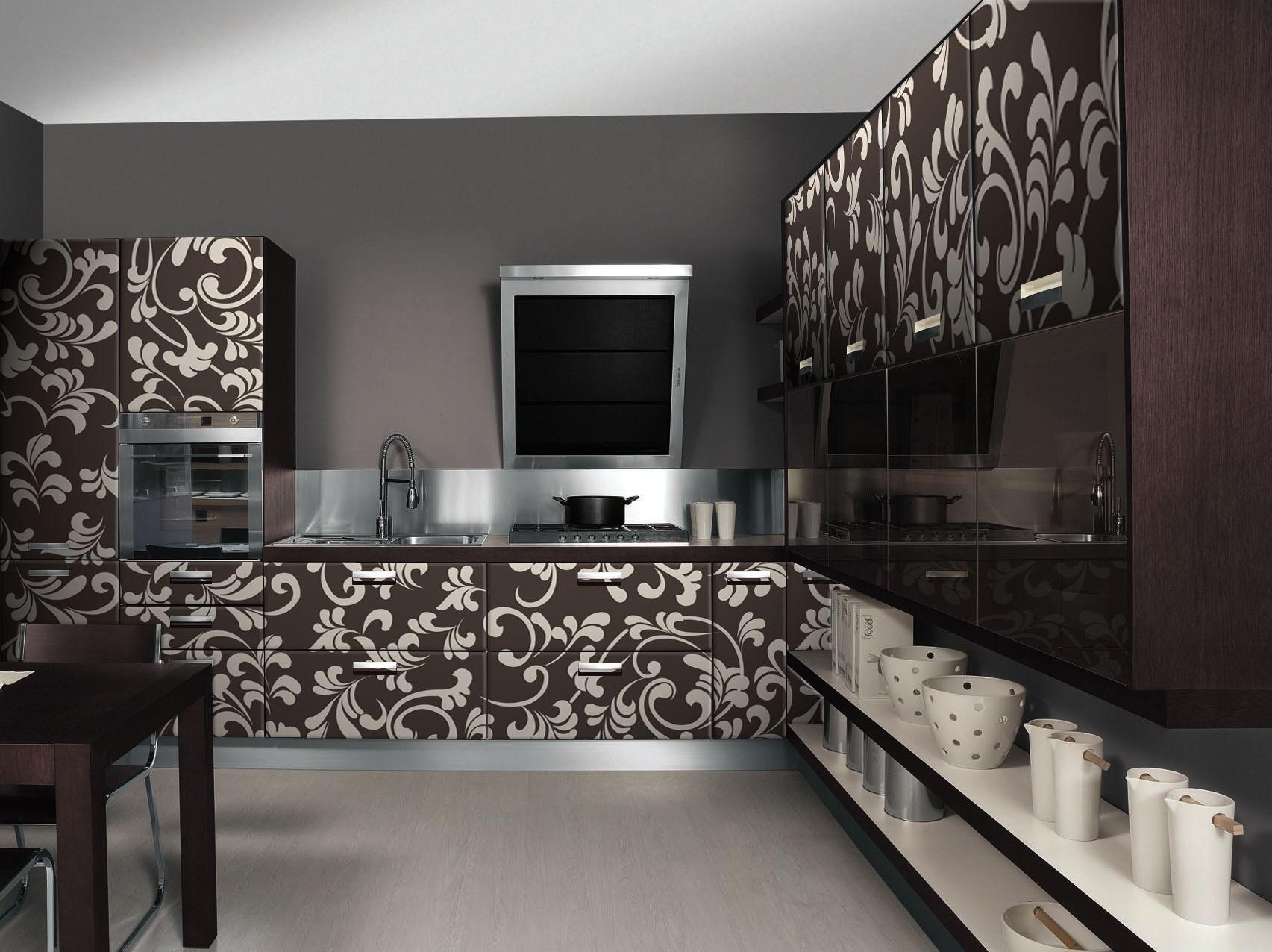 Фото 19 дизайна интерьера кухни.