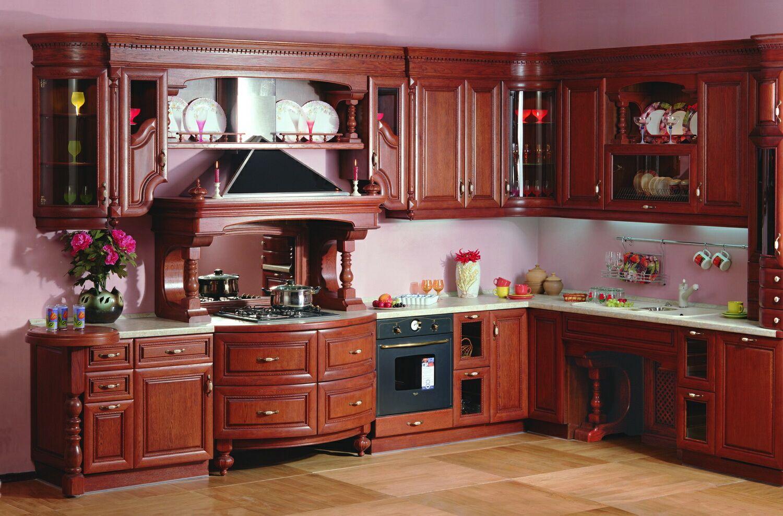 Купить деревянную кухню в Киеве
