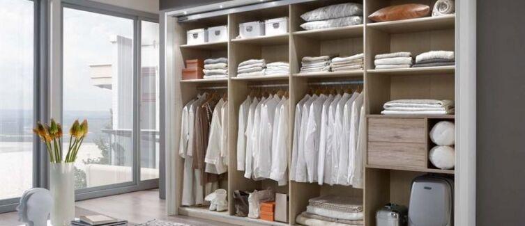Как выбрать наполнение шкафа-купе