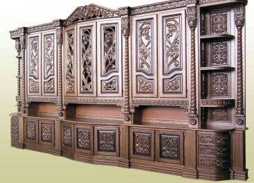 Mебель из ценных пород дерева