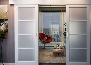 Раздвижные двери и перегородки между комнатами