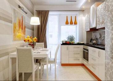 Мебель для маленькой кухни. Расположение и дизайн. Нестандартные решения