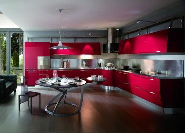 Кухня в стиле хай-тек: комфорт плюс неординарность