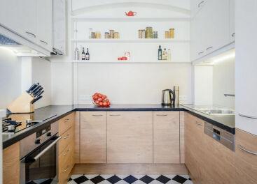 Особенности дизайна кухни без окна