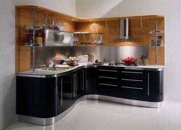 Угловые кухни – удобные и практичные