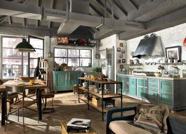 Кухня в стиле лофт: для оригинальных и независимых
