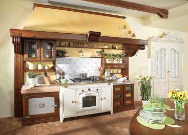 Кухня в стиле кантри: неизменный домашний уют