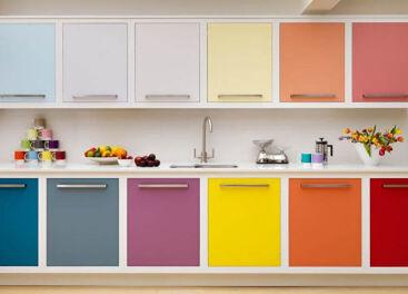 Как подобрать цвет кухонного гарнитура