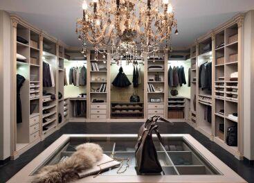 Гардеробная комната, шкаф-купе в Харькове – фото, цены