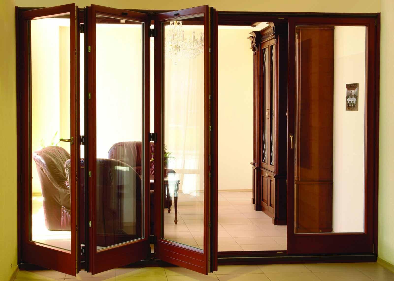 деревянные раздвижные двери