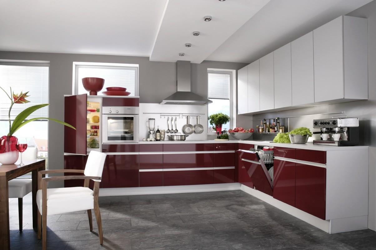 Кухонный хай-тек-дизайн