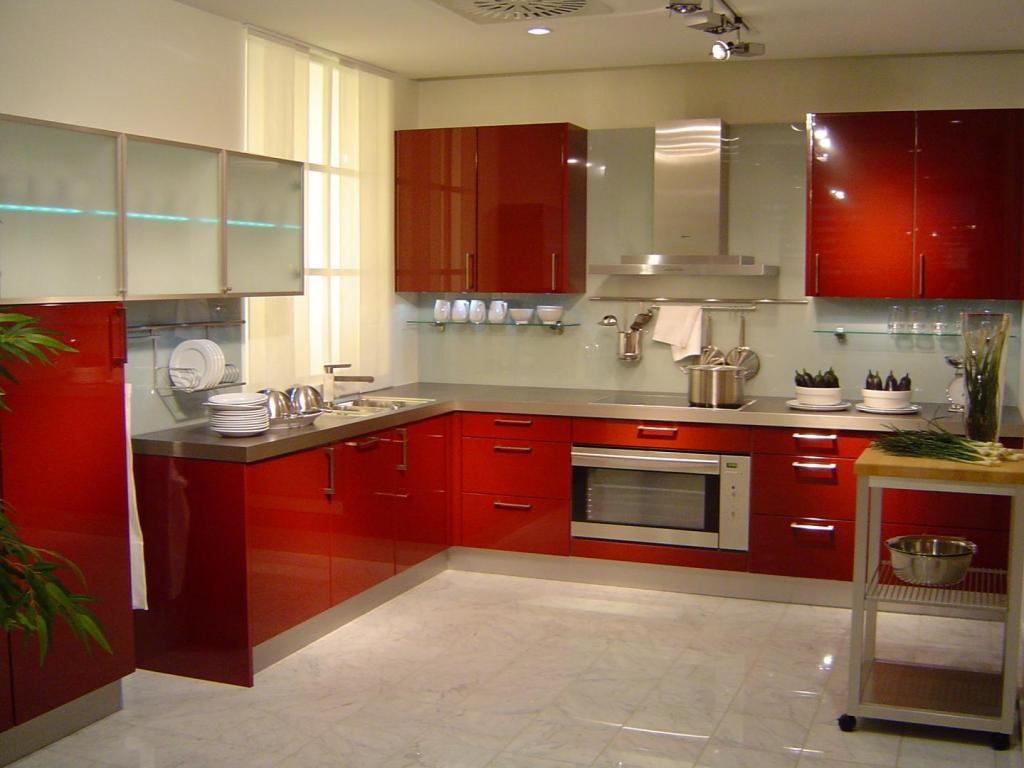 крашеные фасады из мдф для кухни