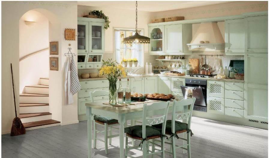 натуральные материалы для кухонь