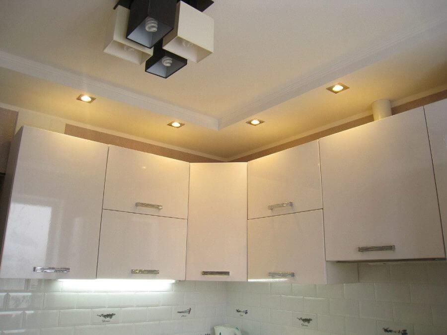 освещения рабочей зоны на кухне