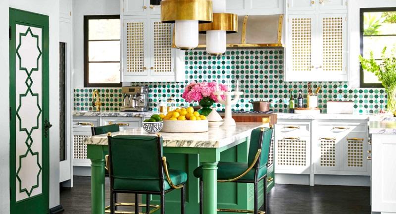 палитра цветов для кухни